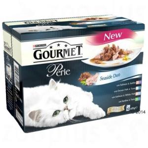 Gourmet Perle 12 x 85 g - Tengerparti duó