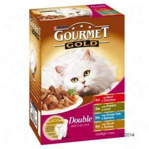 Gourmet Gold 12 x 85 g - Pástétom zöldséggel