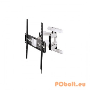 "Hama FullMotion TV Wall Bracket 5 stars/XL/229 cm (90"") Black/White"