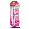 Golyóstoll, 0,5 mm, kétvégű, rózsaszín tolltest, MAPED