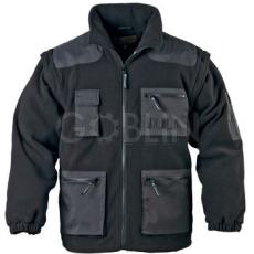 Coverguard ARTISAN fekete, 2/1-ben levehetõ ujjú, sok zseb, vízhatlan betétek, derékvédõ