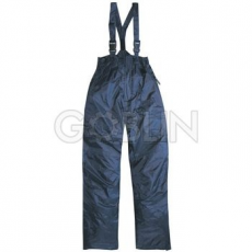 Coverguard FINEK kék deréknadrág, vállpánttal