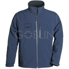 Coverguard YANG XTRA kiválóan hõszigetelõ sötétkék softshell kabát, extra szellõzés és...