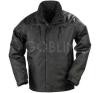Coverguard ORKAN fekete PVC-vel vízhatlanított Oxford kabát hõszigetelõ béléssel, vastag polár... munkaruha