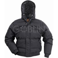 Coverguard TOUN fekete vízhatlan Taslan 2/1-ben steppelt dzseki, levehetõ ujjak, bélelt kapucni