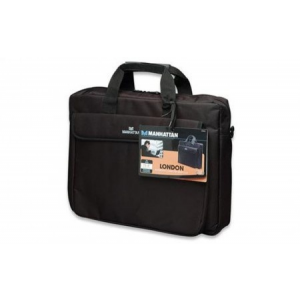 "Manhattan 438889 London Notebook Computer Briefcase (15,6"") Fekete"