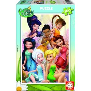 Educa Educa 100 db-os puzzle - Disney Tündérek (15934)