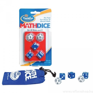 ThinkFun Math Dice logikai
