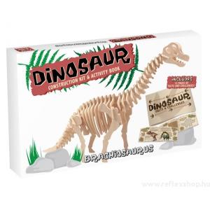 Professor Puzzle Brachiosaurus Professor Puzzle fa építő szett, nagy
