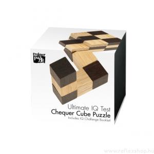 Professor Puzzle Chequer Cube Professor Puzzle fa logikai játék