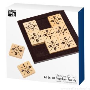 Professor Puzzle All in 10 Professor Puzzle logikai játék