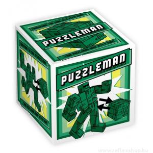 Professor Puzzle Puzzleman Professor Puzzle logikai játék, zöld