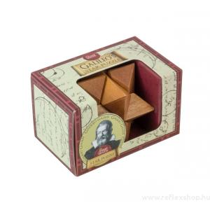 Professor Puzzle Nagy Elmék - Galileo Csillag mini Professor Puzzle ördöglakat