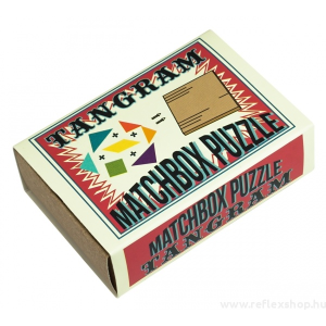 Professor Puzzle Tangram Matchbox Professor Puzzle ördöglakat