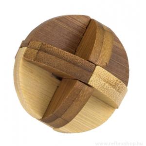 Professor Puzzle Curve mini Professor Puzzle bambusz ördöglakat