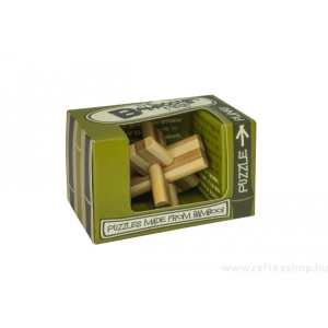 Professor Puzzle Planks mini Professor Puzzle bambusz ördöglakat
