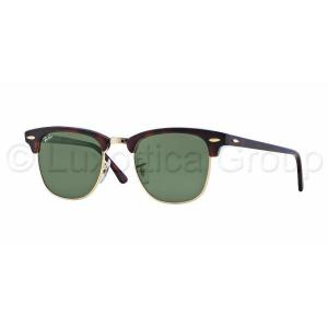 Ray-Ban RB3016 W0366 CLUBMASTER MOCK TORTOISE/ ARISTA CRYSTAL GREEN napszemüveg