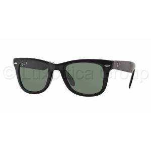 Ray-Ban RB4105 601/58 FOLDING WAYFARER BLACK CRYSTAL GREEN POLARIZED napszemüveg