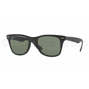 Ray-Ban RB4195 601S9A WAYFARER LITEFORCE MATTE BLACK POLAR GREEN napszemüveg