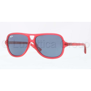 Ray-Ban RJ9059S 197/80 MATTE RED BLUE napszemüveg