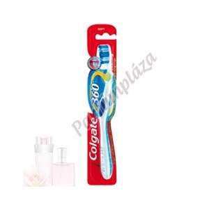 Colgate 360° Whole Mouth Clean Fogkefe - Soft 1 db