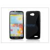 Haffner LG L90 D405 szilikon hátlap - S-Line - fekete