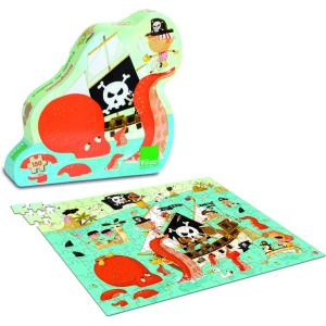 VILAC Kalózhajó puzzle fából (150 db-os)