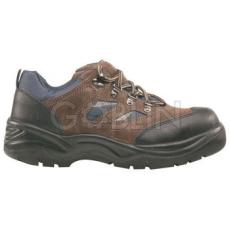 Coverguard COPPER (S1P) barna velúrbõr cipõ, acélkapli és -talp, orr és sarokborítás