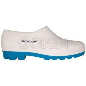 Dunlop Nitriltalpú cipõ, zoknira húzható, víz- és lúgálló, fehér