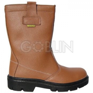 Coverguard PYRITE (S3 CK) barna, bélés nélküli színbõr csizma, fémmentes, kompozit lábujjvédõ,...