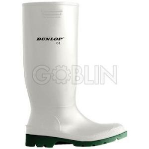 Dunlop Pricemastor fehér sav- és lúgálló PVC csizma