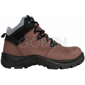Coverguard TÚRA (S3) nubukbõr bakancs, trekking fazon, acélkapli, talplemez, kényelmes talpbélés