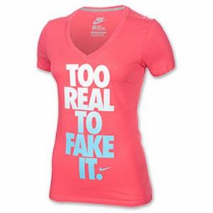 Nike TEE MID V-TOO REAL 611873-685