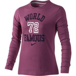 Nike WORLD FAMOUS LS TEE YTH 481740-605