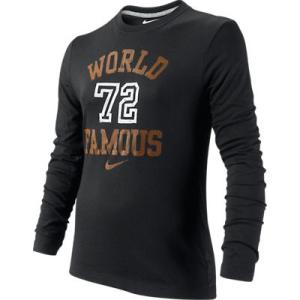 Nike WORLD FAMOUS LS TEE YTH 481740-010