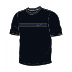 Nike CHEST STRIPE SS CREW 522182-010