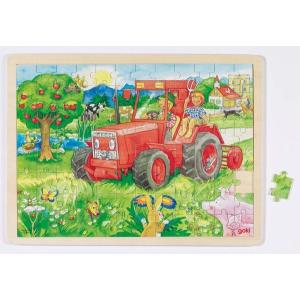 Fa kirakó - Traktor