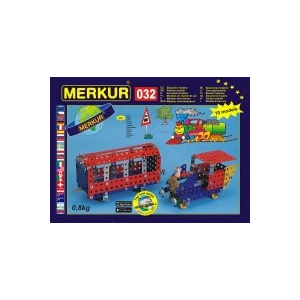 Merkur 032 Fémépítő készlet, Vonatok