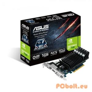 Asus GT730-SL-1GD3-BRK nVidia,PCIE,GPU:902MHz,RAM:1800MHz,1GB,DDR3,64bit,Passzív hűtés,VGA,1xDVI,1xHDMI,LP