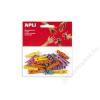 APLI Csipesz, fa, mintás 35x7 mm, APLI, színes (LCA13480)