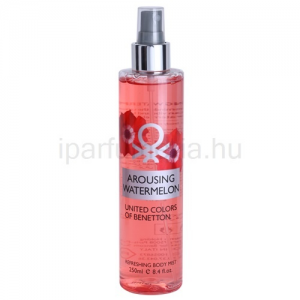 Benetton Arousing Watermelon testápoló spray nőknek 250 ml