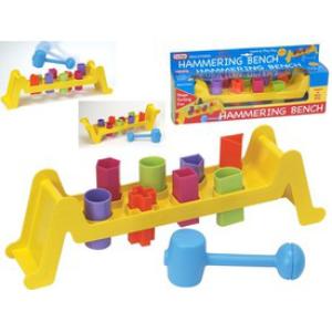 Fun Fun Time - Átfordítható kalapácsos bébijáték