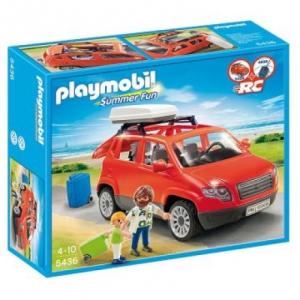 Playmobil Tetőcsomagtartós családi autó - 5436