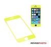 iPhone 5C/5S/5 GGS Larmor LCD védő sárga mobiltelefon kellék