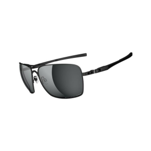 Oakley PLAINTIFF SQUARED MATTE BLACK GREY POLARIZED OO4063-04 napszemüveg