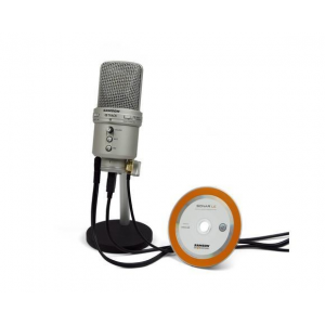 Samson Technologies SAMSON G-Track USB Condenser Microphone with Audio Interface and mixer