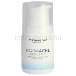 Dermedic Normacne Preventi éjszakai szabályozó és tisztító arckrém