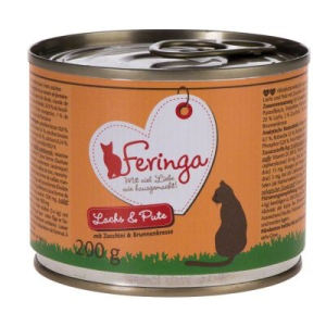 Feringa Menü Duo-változatok 6 x 200 g - Kacsa & borjú, brokkoli & pitypang
