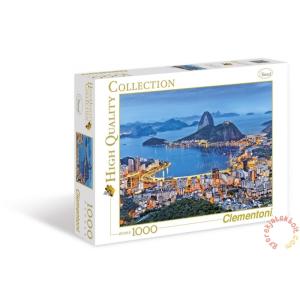 Clementoni 1000 db-os puzzle - Rio de Janeiro (39258)