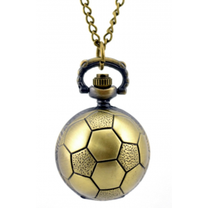 egyéb Focis nyaklánc óra bronz